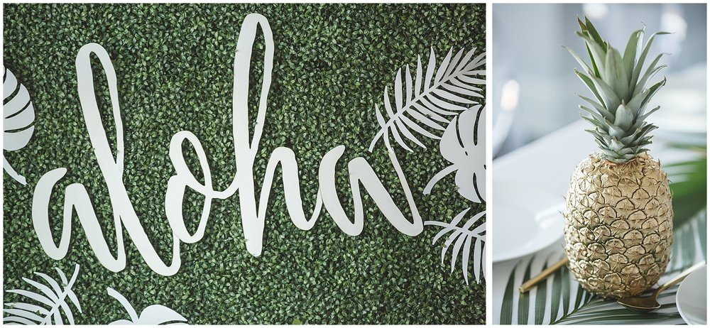 hawaiian bridal shower inspiration