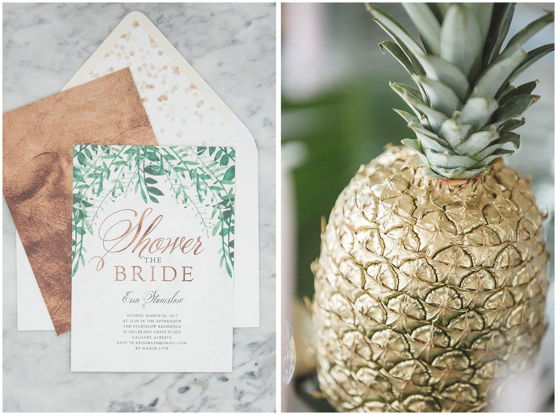 Erin\'s Modern Hawaiian Bridal Shower was Featured on Ruffled ...