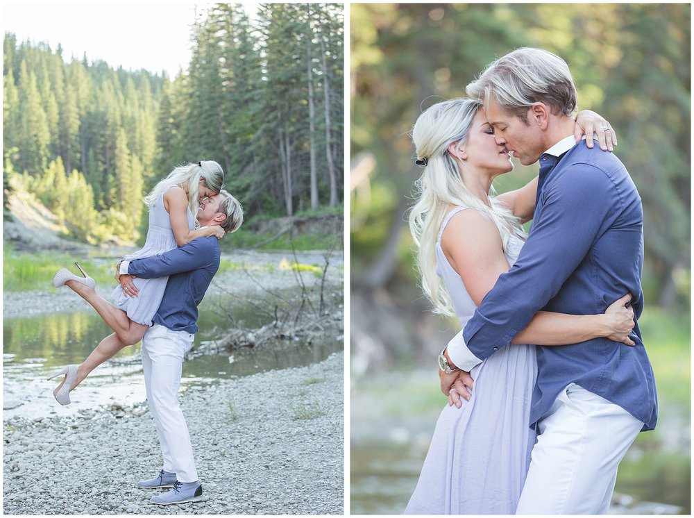 Fish Creek Park Engagement Photography