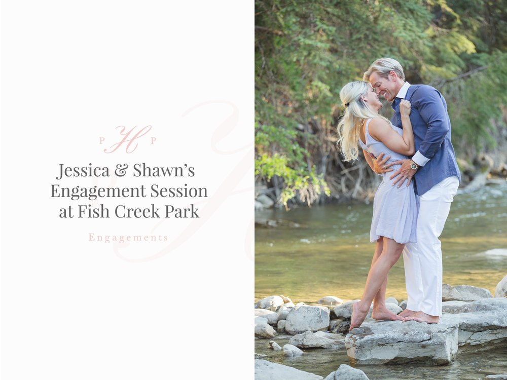 Jessica & Shawn's Engagement Session at Fish Creek Park