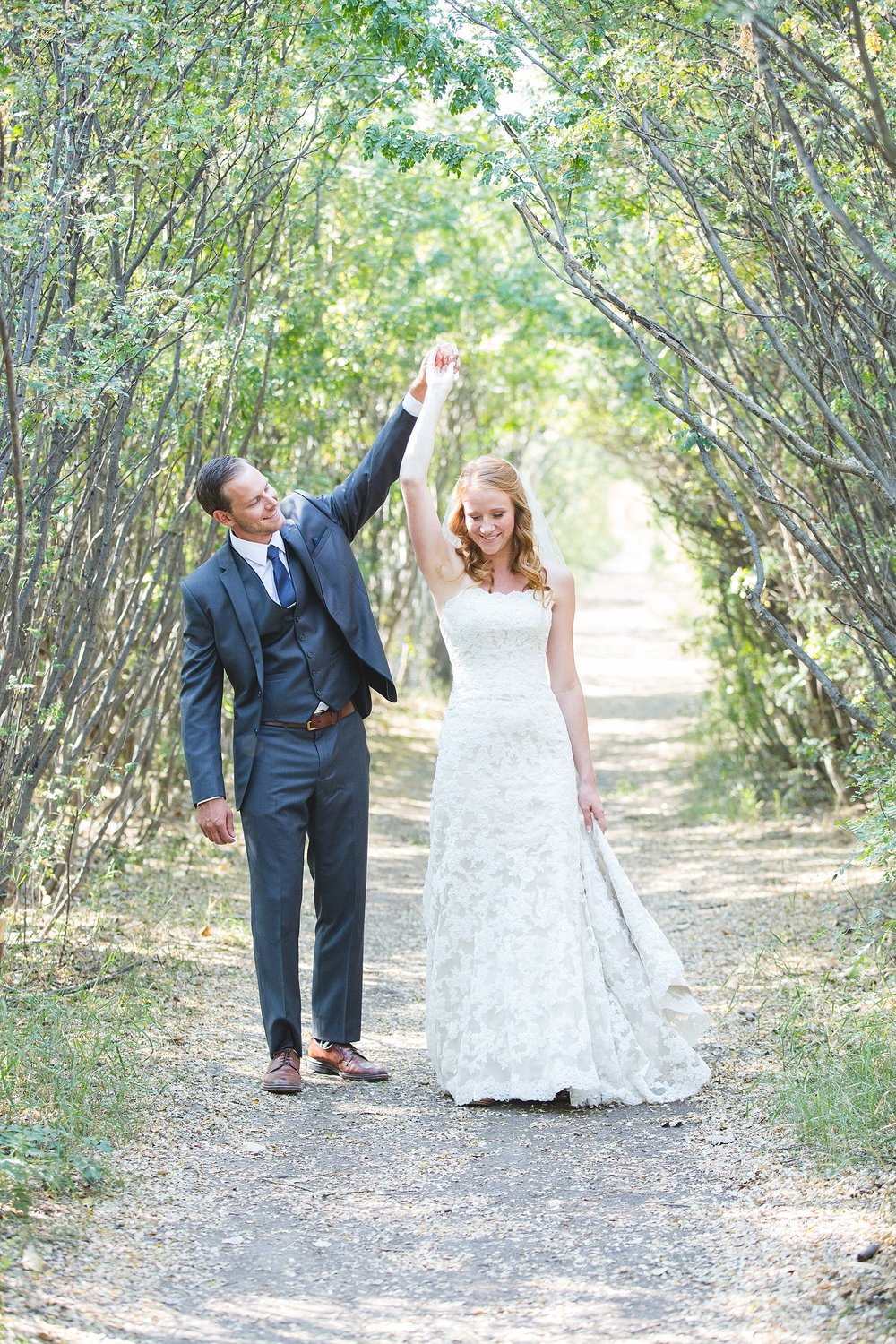 Calgary Wedding Photography in Edworthy Park
