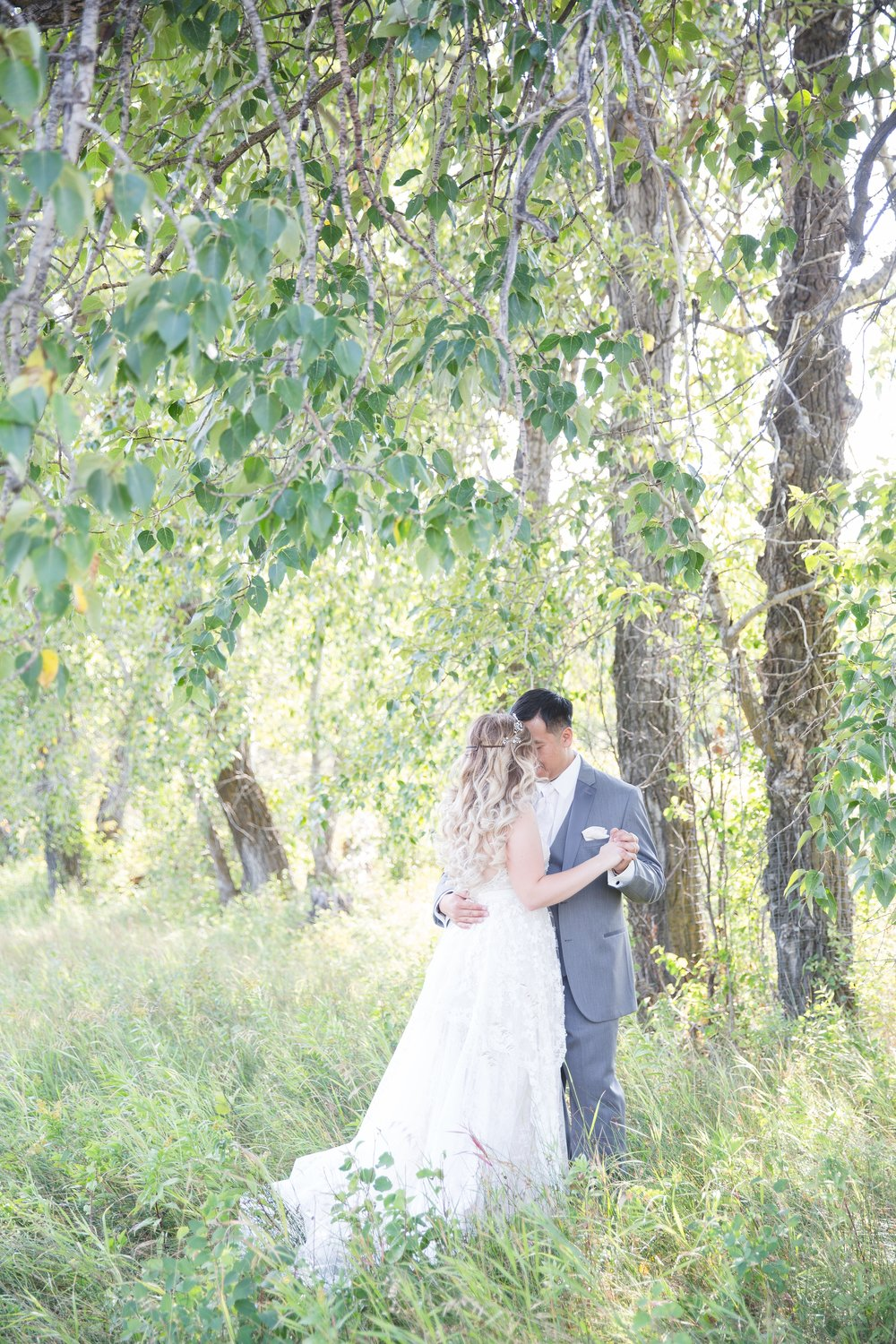 Calgary Wedding Photography in Fish Creek Park