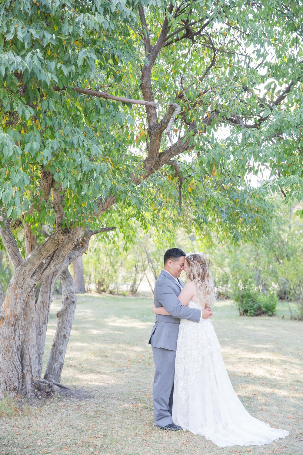 Calgary Wedding Photography at Bow Valley Ranche