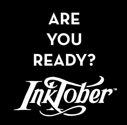Let's do this, #INKTOBER #Inktober2016 @Cosmicmedium !
