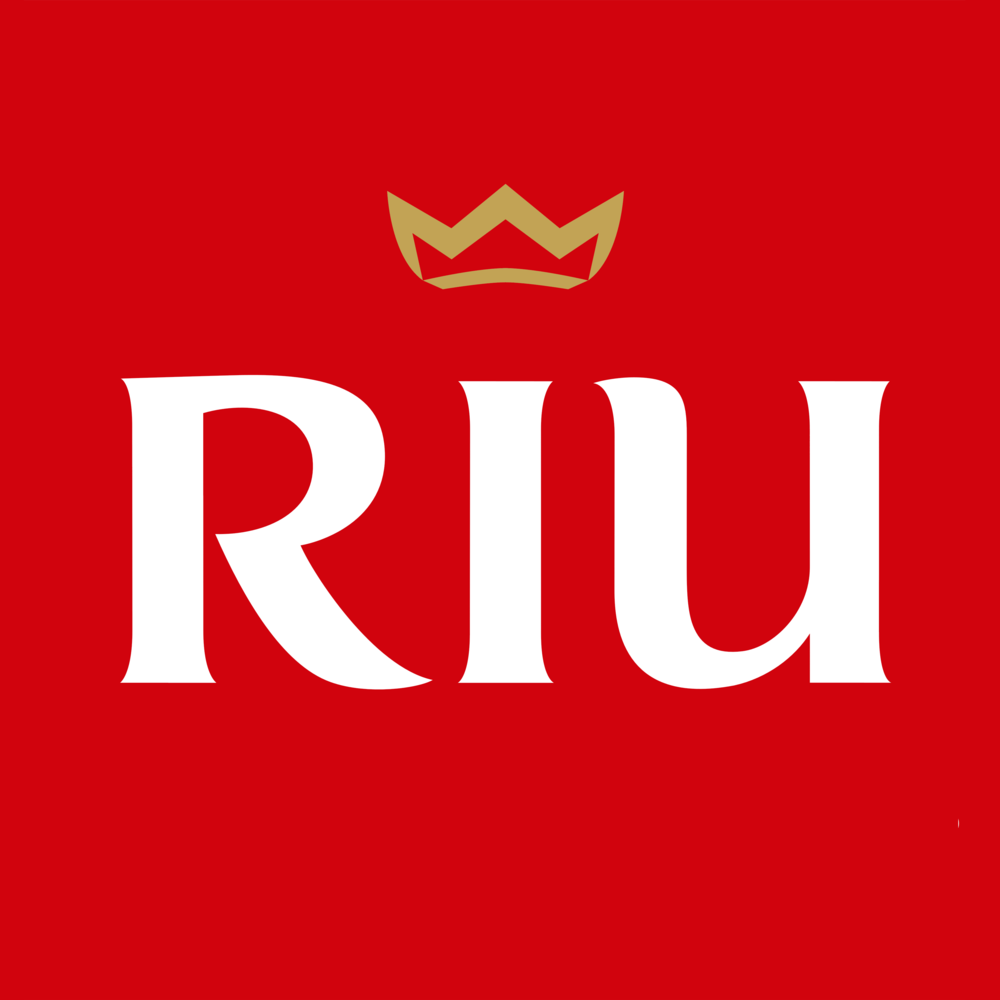 RIU Hotels and Resorts - Lettermark - Initials with distinct typography.