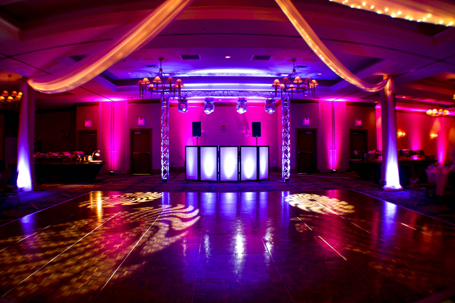 Lighting design wedding event tips from rochester s best djs