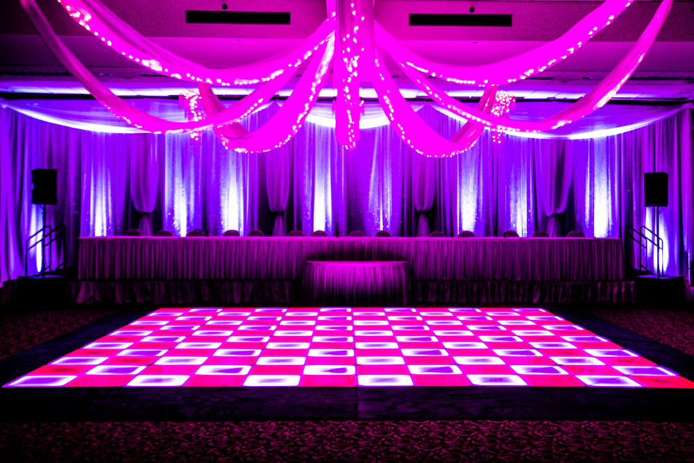LED Dance Floor and Lighting