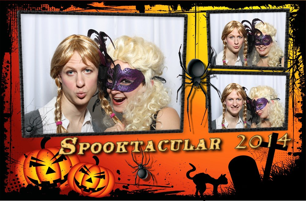 Photo Booth Halloween Party