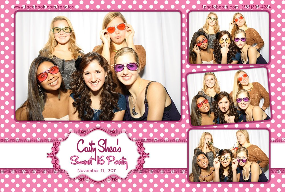 Photo Booth Sweet 16