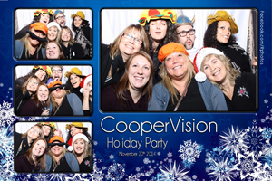 Photo Booth Holiday Party Template