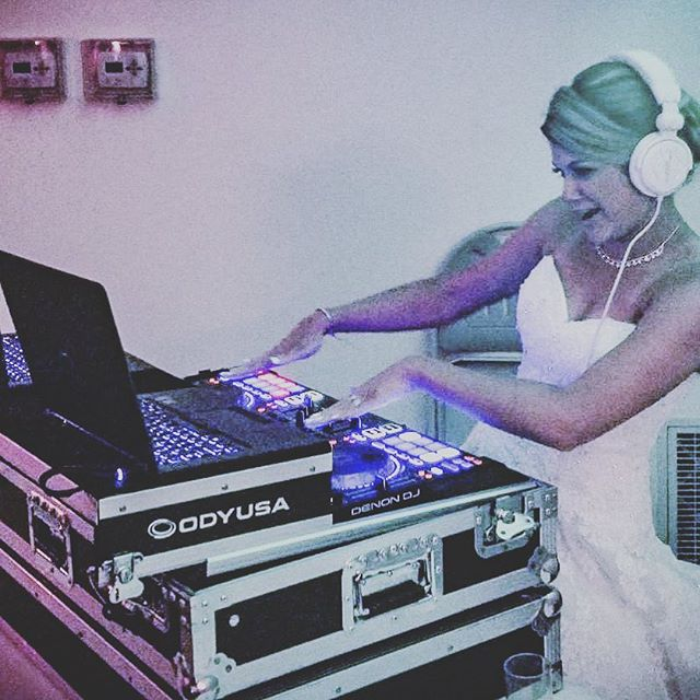 "Kristen and Anthony's wedding reception was INSANE! DJ @dave.w_sedj PACKED the dance floor the entire night! Their friends and family definately know how to party! A HUGE thank you to the both of them for letting #soundexpressdjs be a part of such an AMAZING night!! Congratulations!!! ""It's not WHAT we do, it's HOW we do it!"""