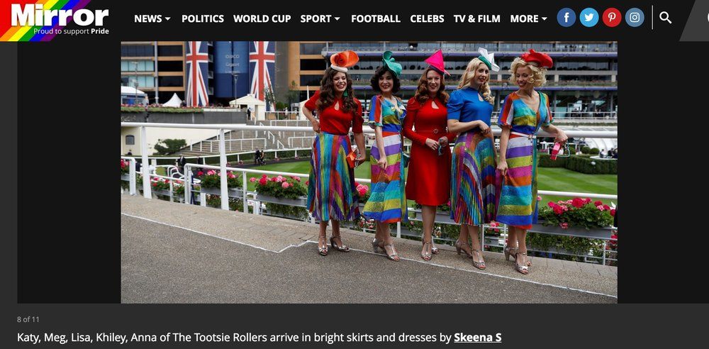The Mirror | Royal Ascot with The Tootsie Rollers