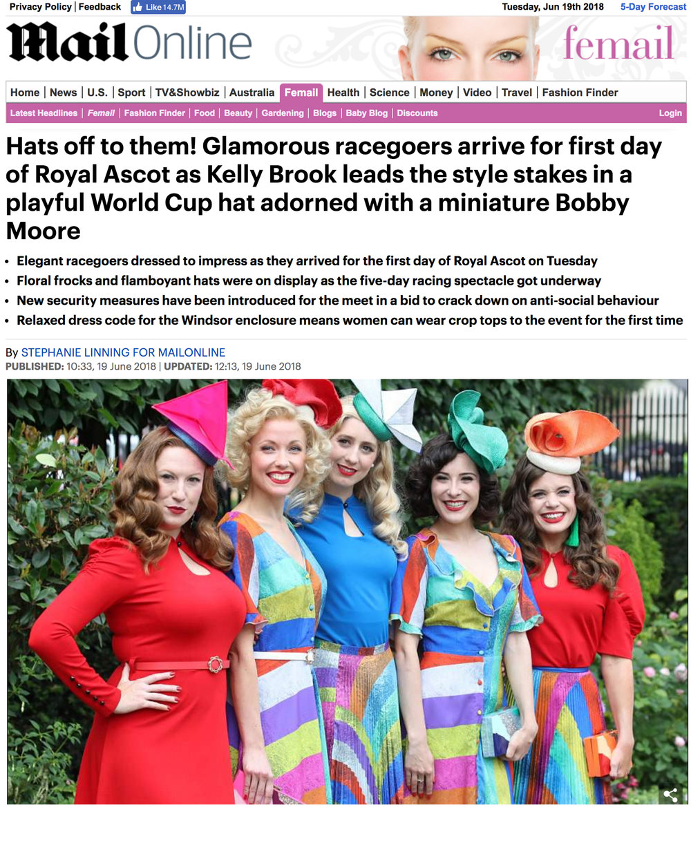 Mail Online | The Tootsie Rollers