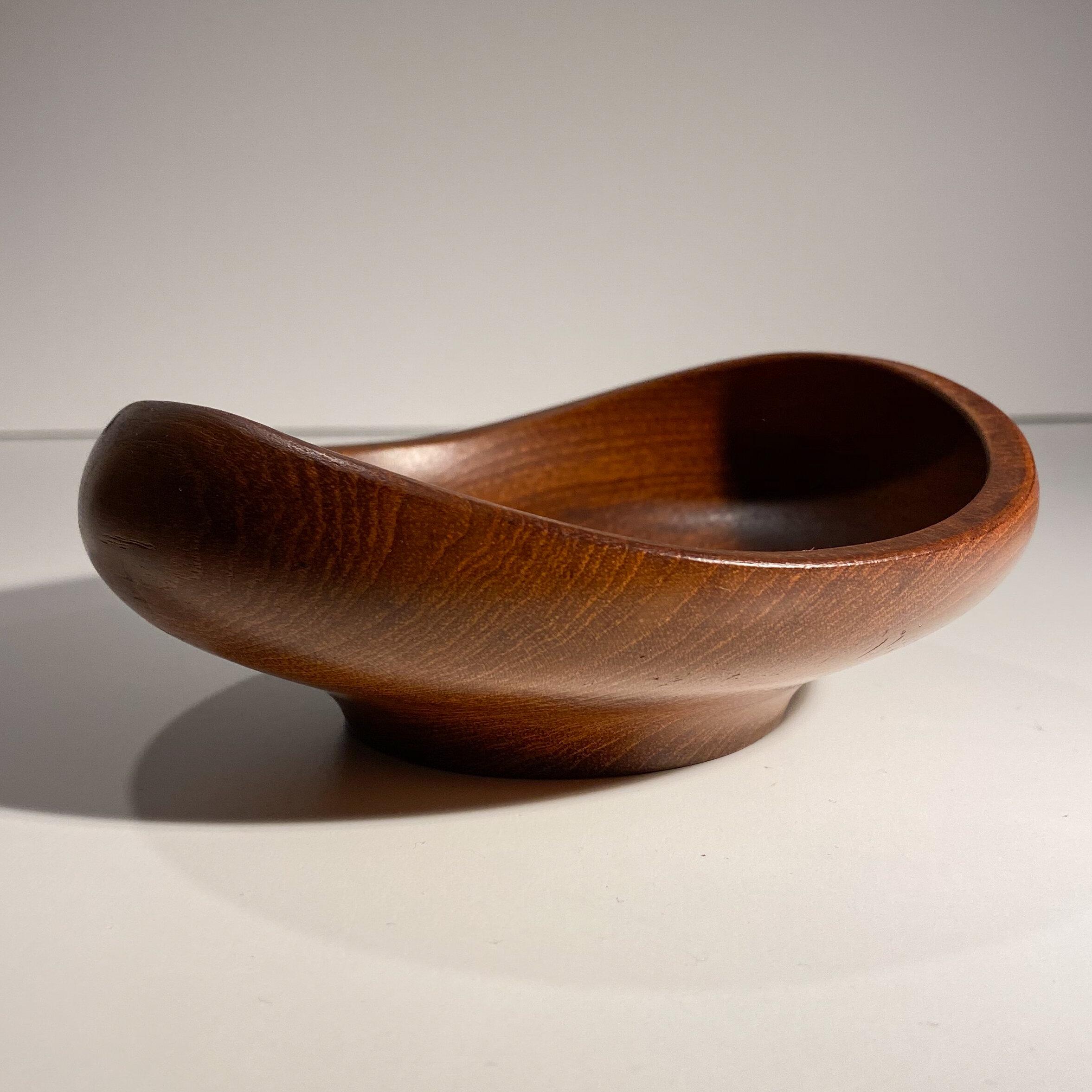 Finn Juhl Teak Bowl For Kay Bojesen Weinberg Modern