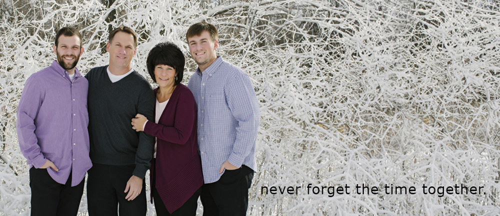 Joey and his family, Maple Grove Senior High