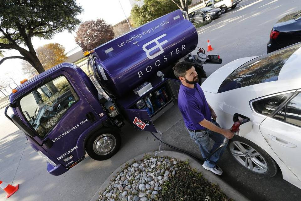 On-Demand Car Refueling