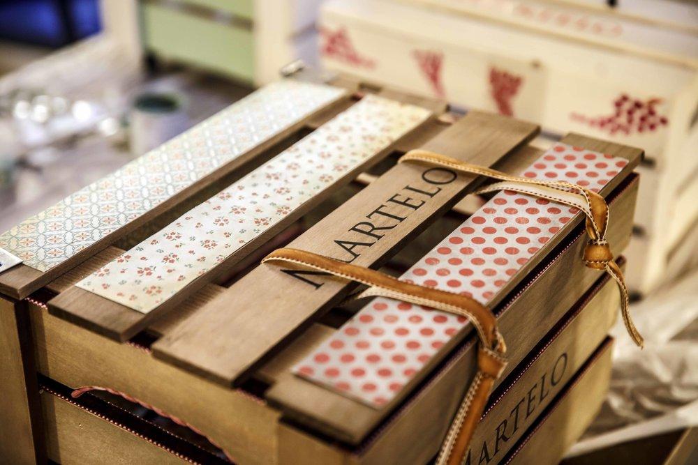 Taller de  upcycling : transformación de cajas de vino para uso personal y decoración.  Bodegas Martelo .