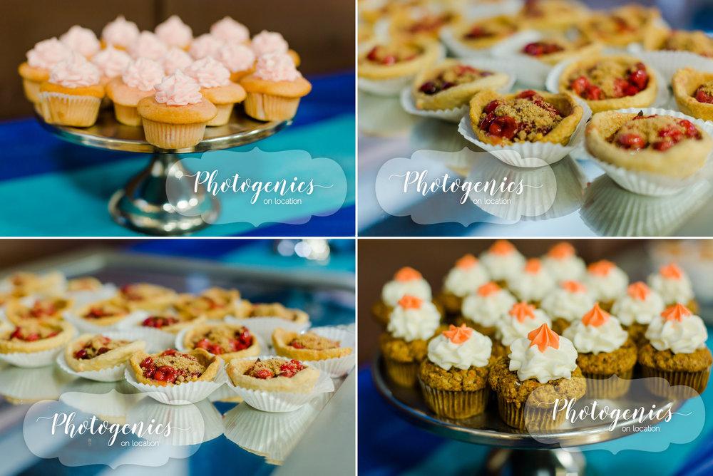 Desserts by Joe's Bakery.