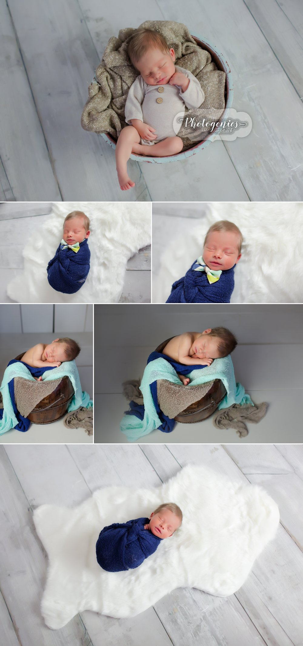 newborn_boy_photography_ideas_romper_hair_props_neutrals_simple_pictures_studio_baby_bowtie_shades_of_blue_teal_bucket_wood 1.jpg