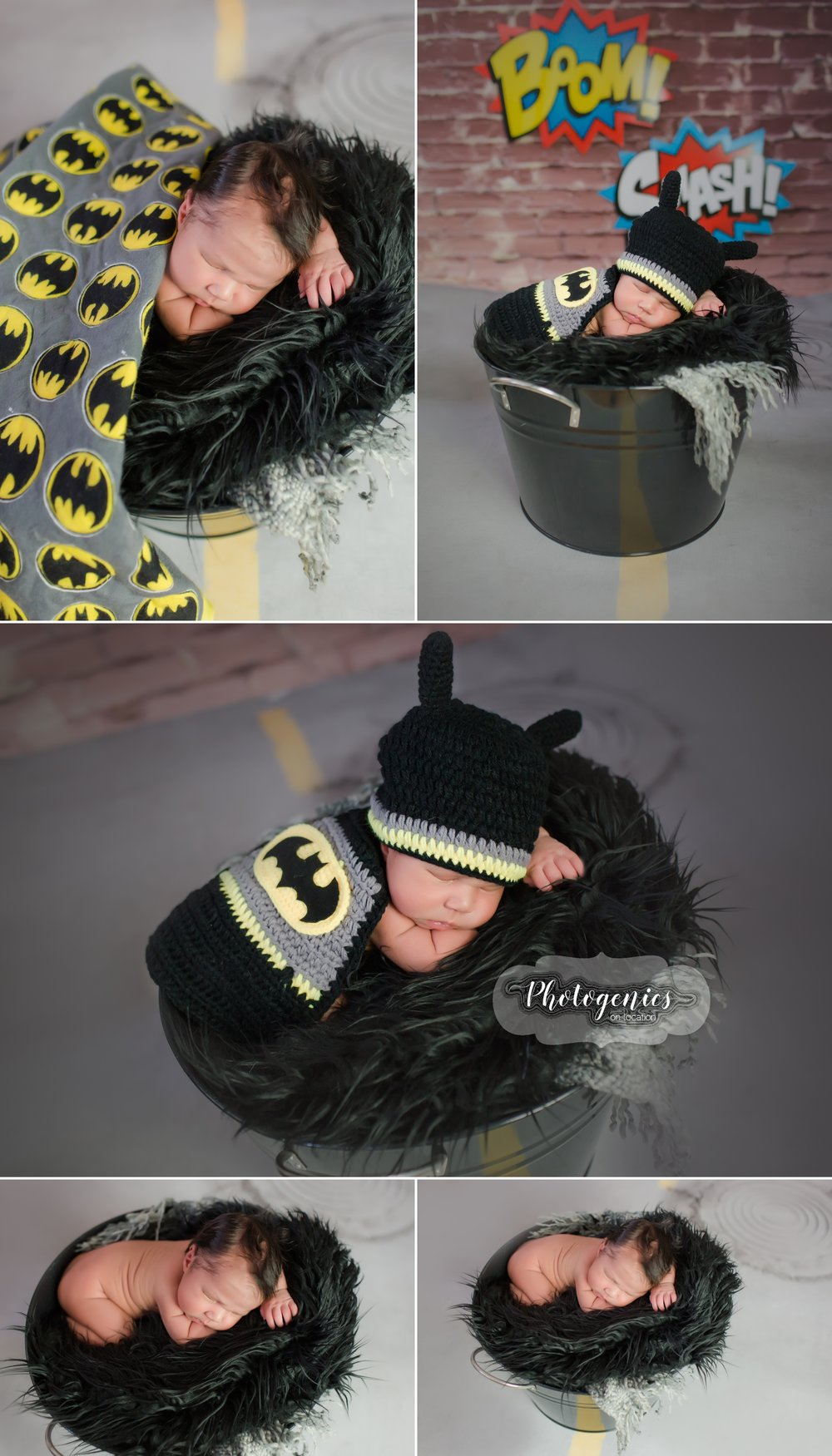newborn_boy_batman_superhero_photography_ideas_props_unique_sleeping_baby_photo_pictures_new 2