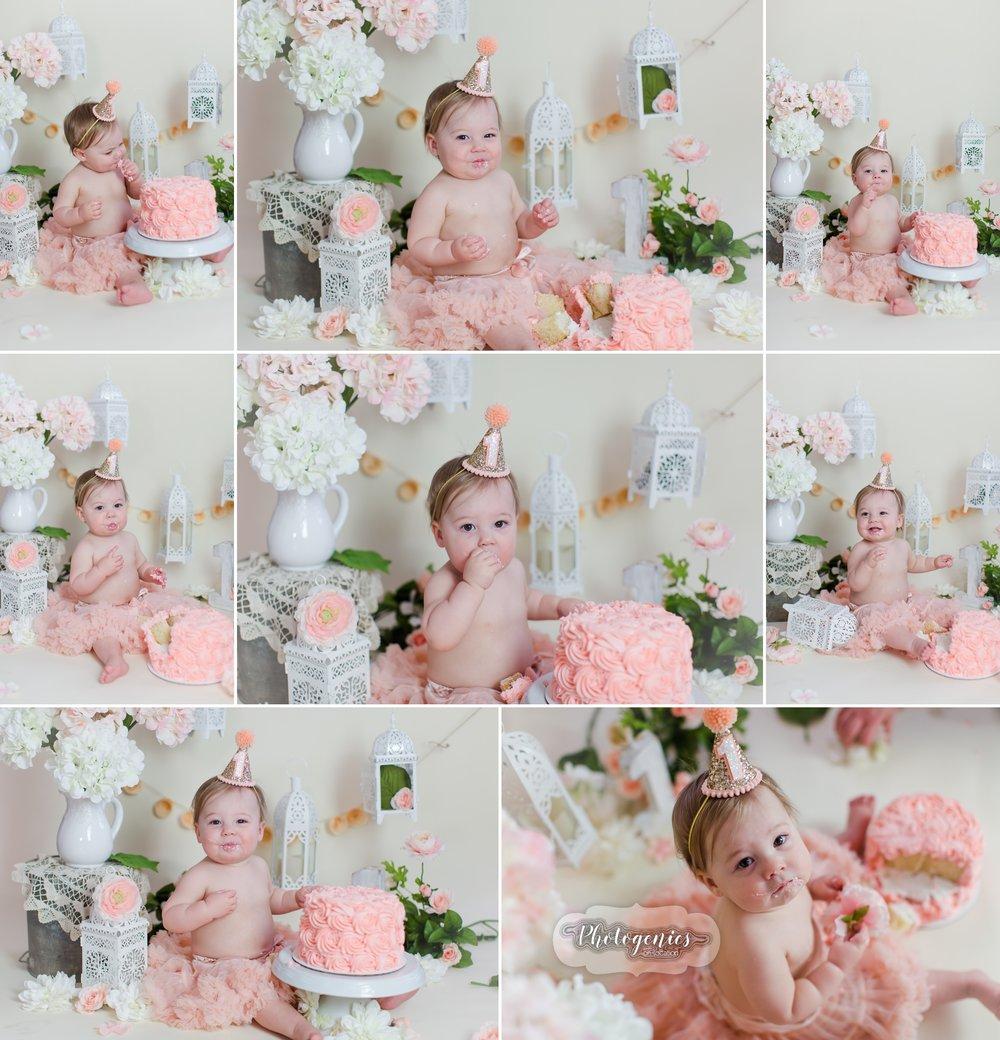 shabby_chic_cakesmash_feminine_girly_vintage_cake_smash_photography_soft_pink_colors_pearls_lanterns_ideas_props_baby_photographer