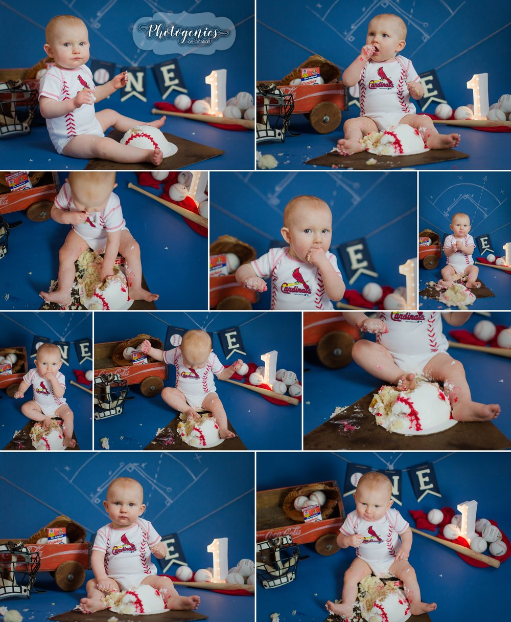 12_month_birthday_first_boy_photography_photo_session_ideas_baseball_theme_vintage_baseball_cake_smash_session 4