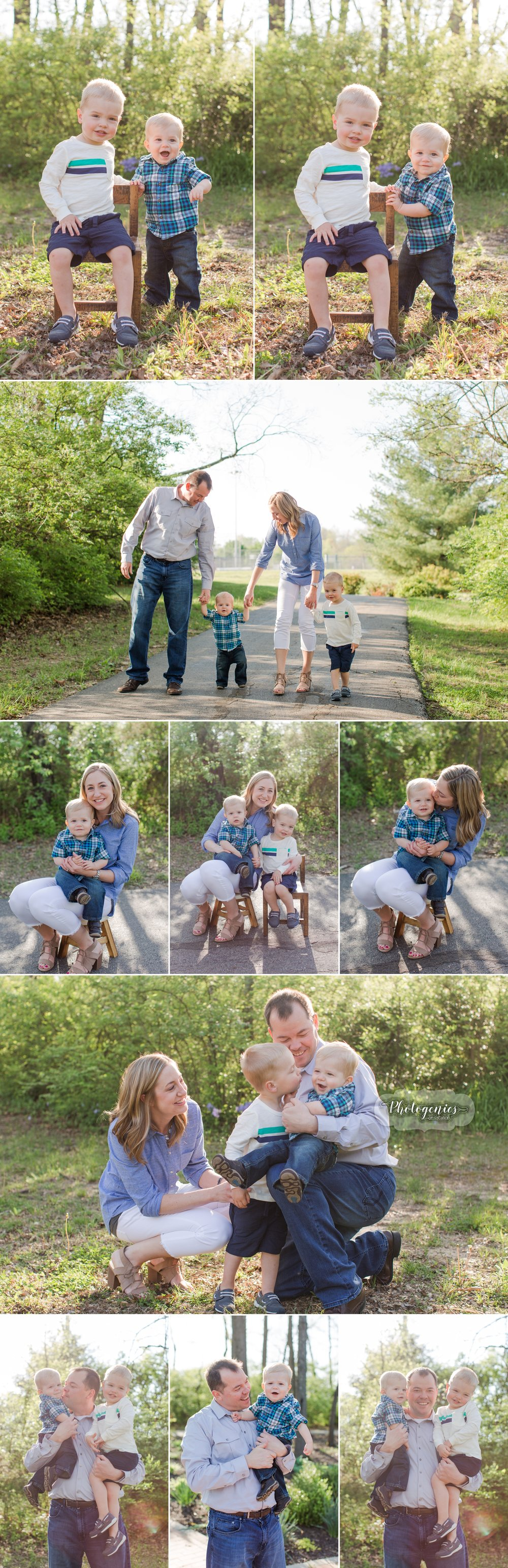 spring_morning_photography_family_of_four_poses_quilt_props_baby_brothers_mom_dad_ideas_photography_missouri_photographer 1