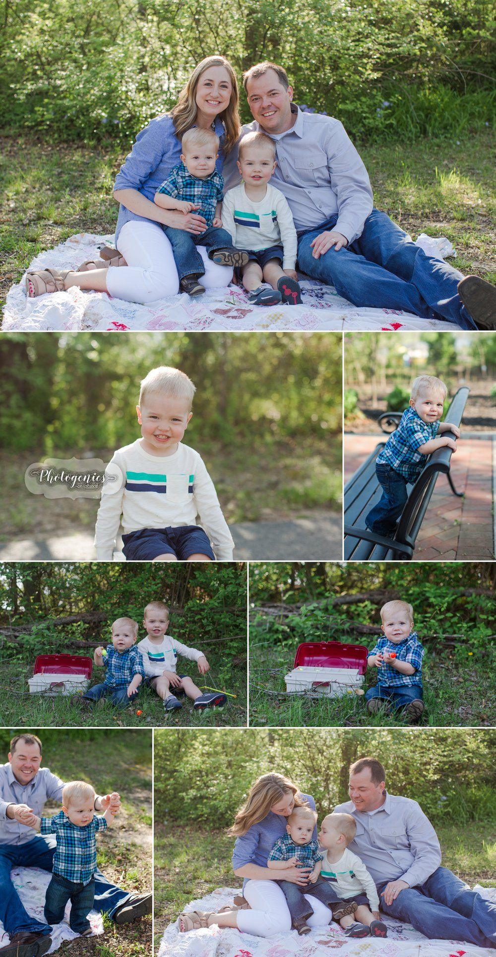 spring_morning_photography_family_of_four_poses_quilt_props_baby_brothers_mom_dad_ideas_photography_missouri_photographer 3
