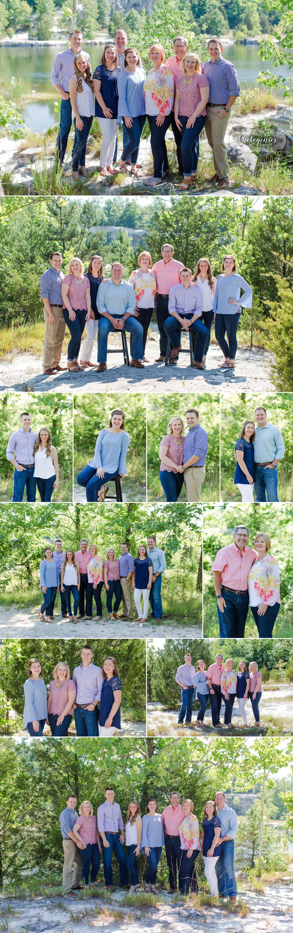 extended_family_session_photography_poses_ideas_colors_what_to_wear_large_group_klondike_park_missouri_family