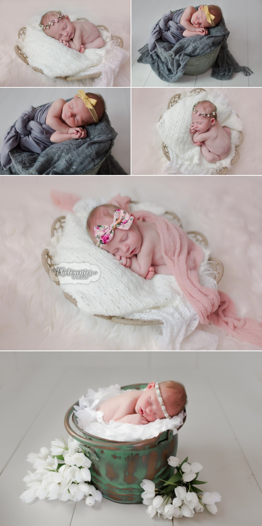newborn_girl_photography_unique_poses_parents_studio_session_florals_wraps 2