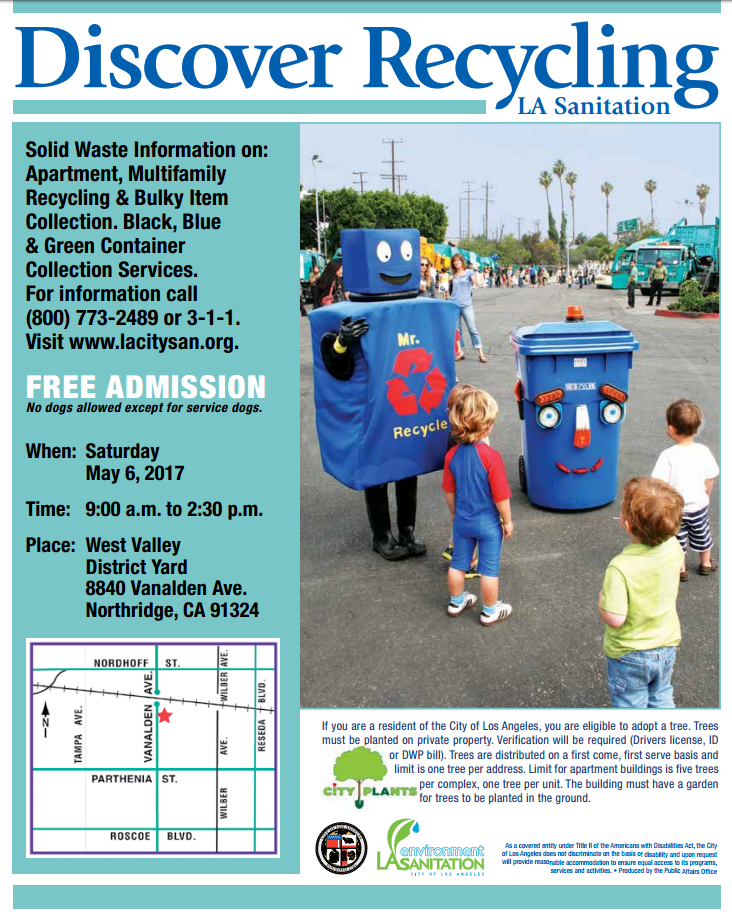 Upcoming Events Clean Streets La