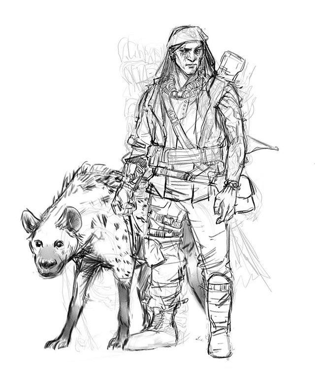 Going back through my wip folder.  #rustyanimalanatomy #hyena #characterdesign #drawing #digitaldrawing #sketch #conceptsketch #instaart #instaartist #artistsoninstagram