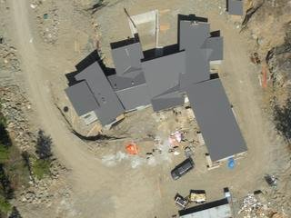 Birdseye view of the roof