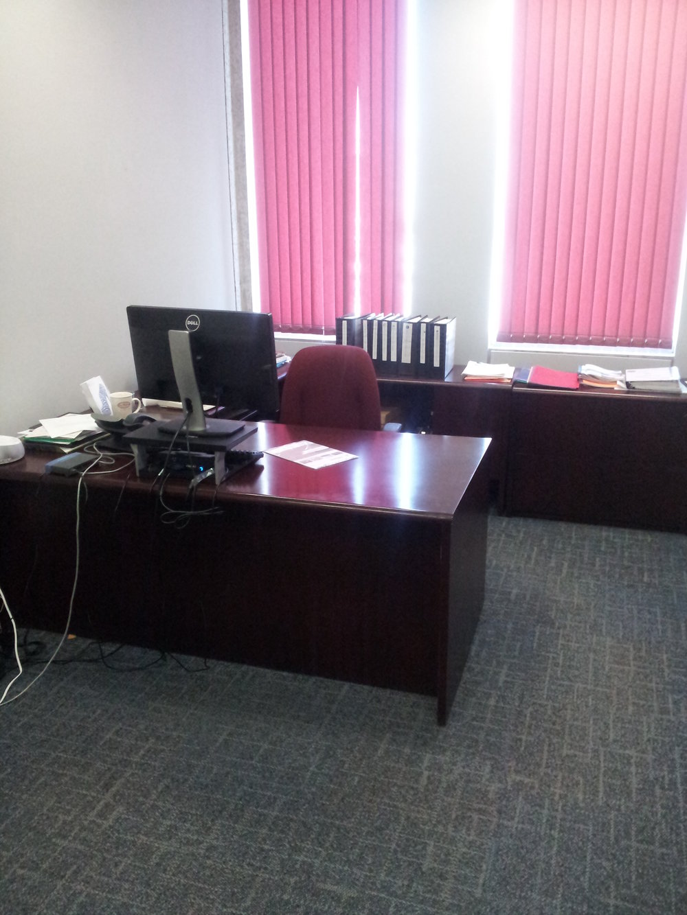 BEFORE - Private office