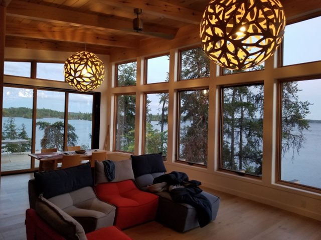 Cottage at West Hawk Lake, Bill Benson Carpentry