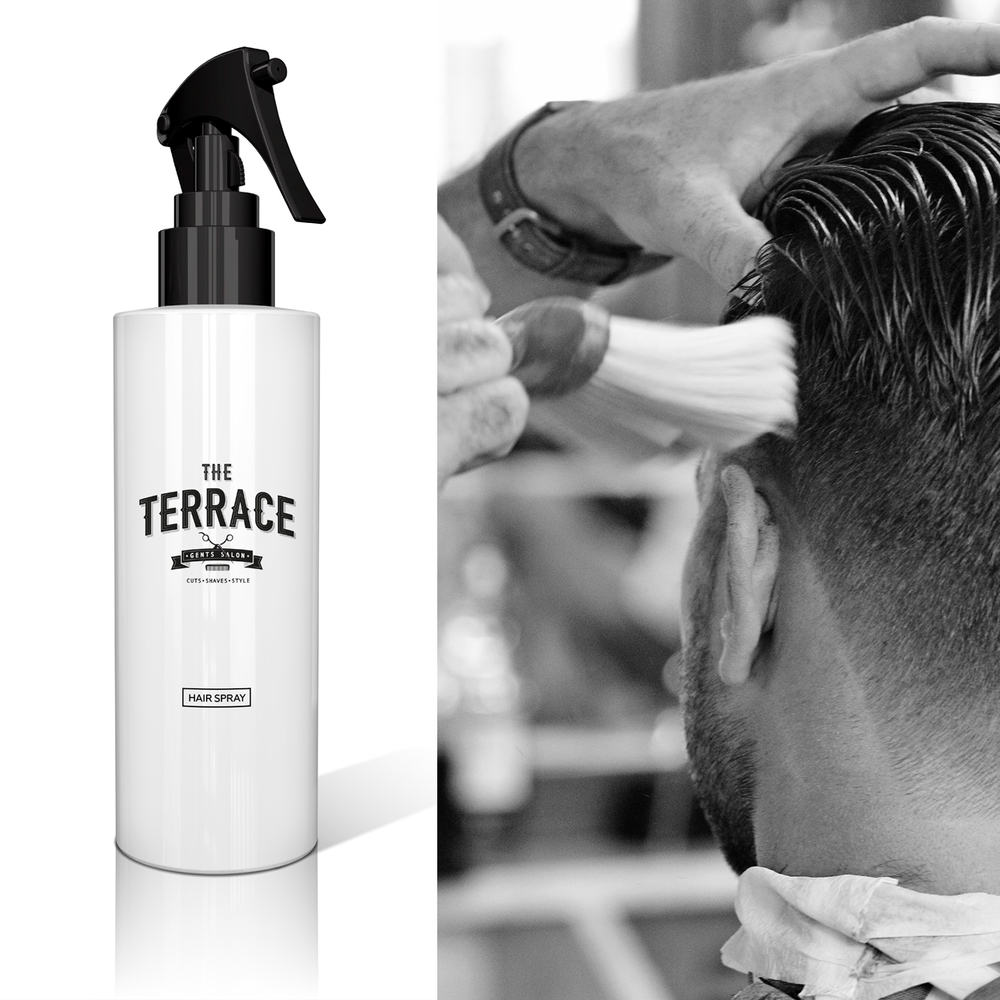 the terrace branding by king orange design