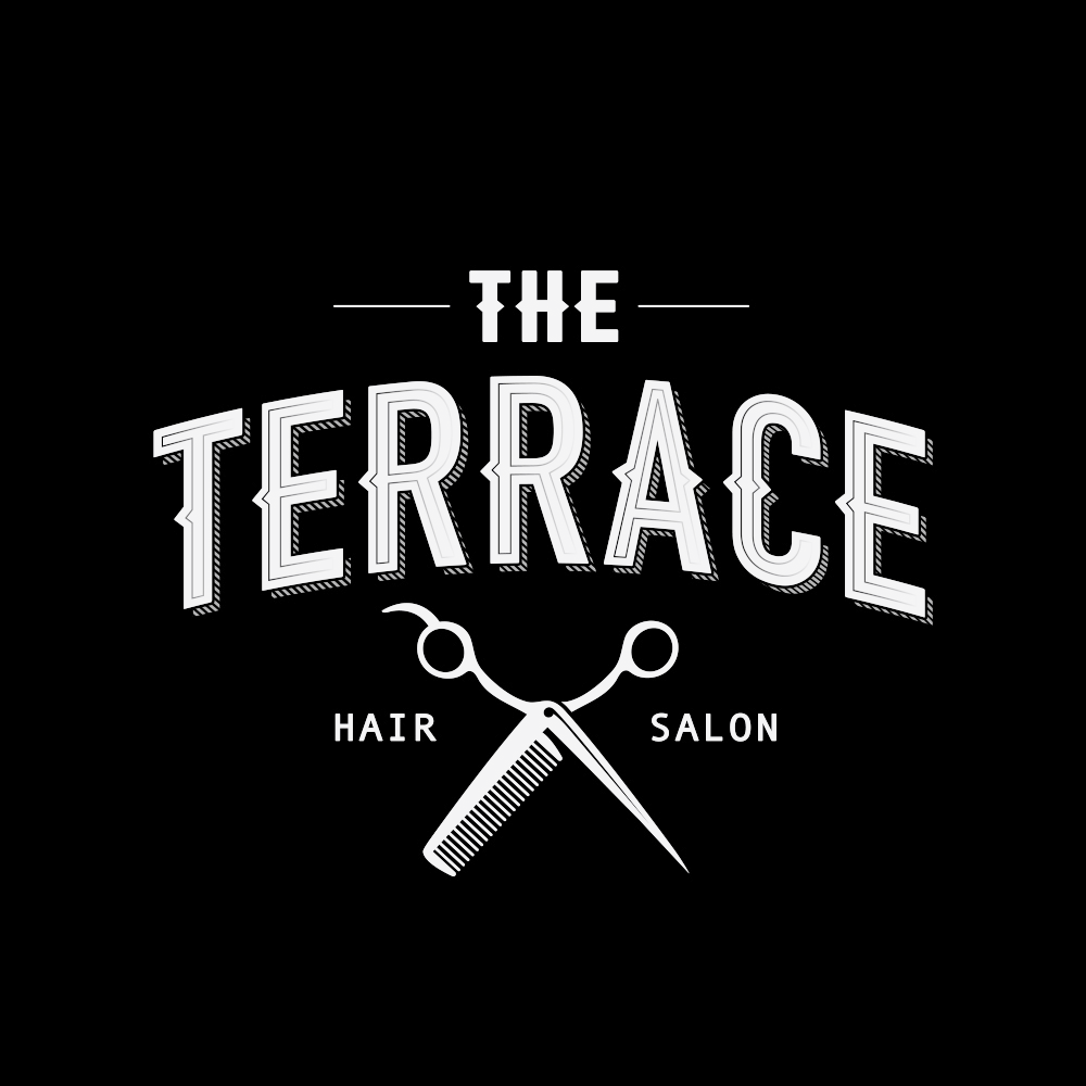 Logo design and Website - Branding designThe Terrace Barbers commisioned us to create fresh brand indentity. Terrace wanted authentic design with modern twist. We designed bespoke logo based on vintage and traditional babering methods.