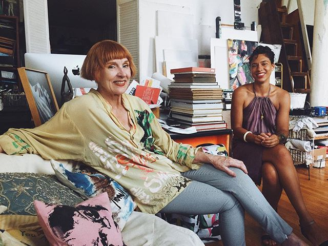 The best part of The Virago Journal is collaborating and conversing with amazing women like Linda and Daisy #viragowomen #comingsoon