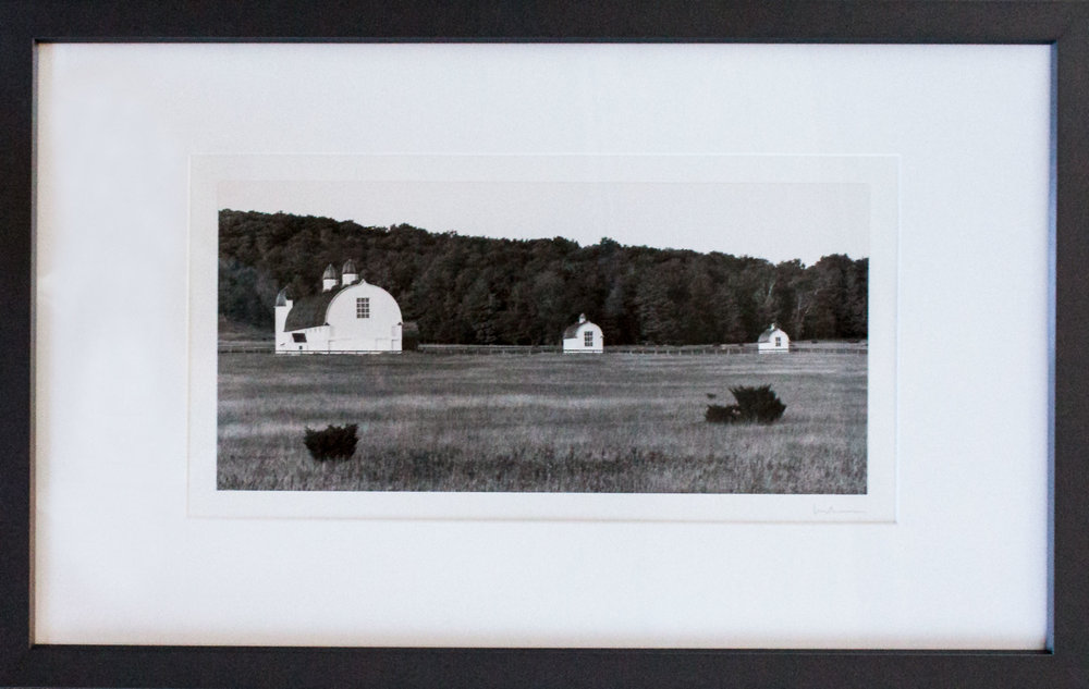 """ Three Barns,""  David Lubbers"