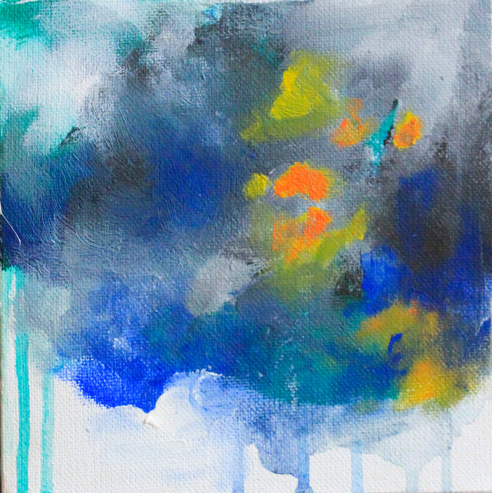 """Color Composition 9,""  Audrey Ferris"