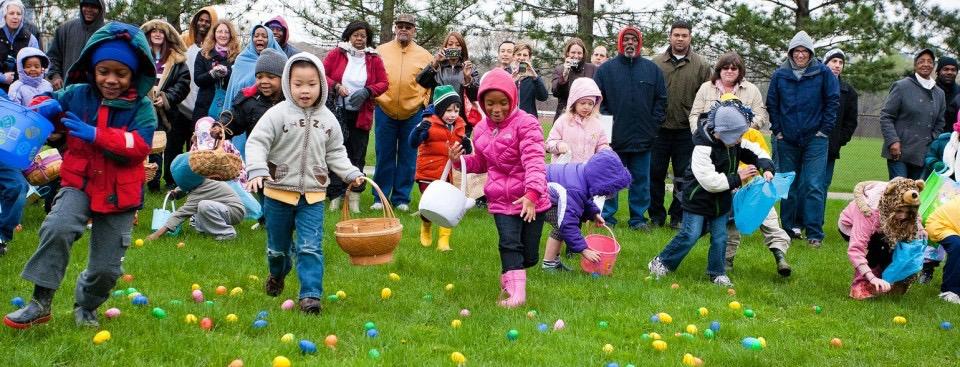 2016 Easter Egg Hunt, Forest Hill Park
