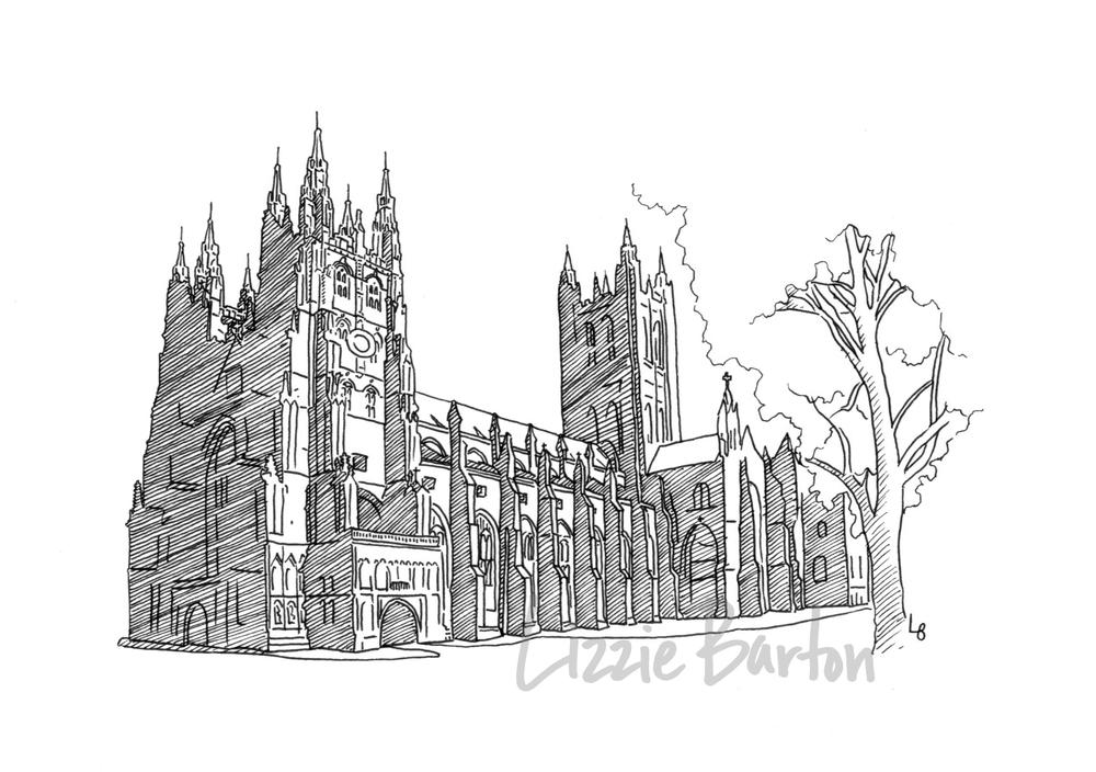 Drawings Lizzie Barton