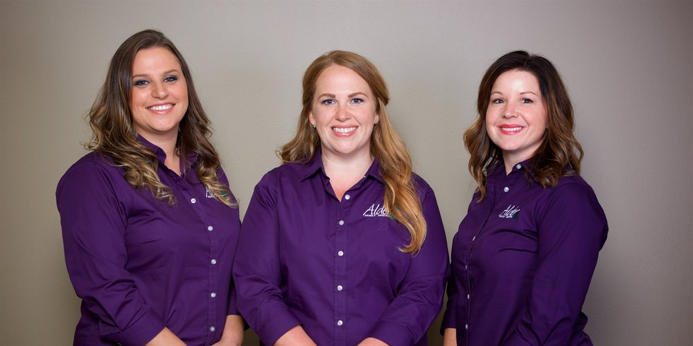 Leadership Team - Michelle, Nicole, and Stacey ensure that the office operates to its fullest capability in taking the best care of our patients.