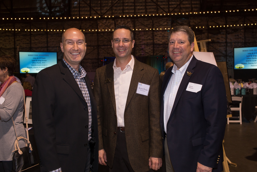 David Evans, Mantel Teter; Skyler Phelps, Mantel Teter; Darin Heyen, Pearce Construction