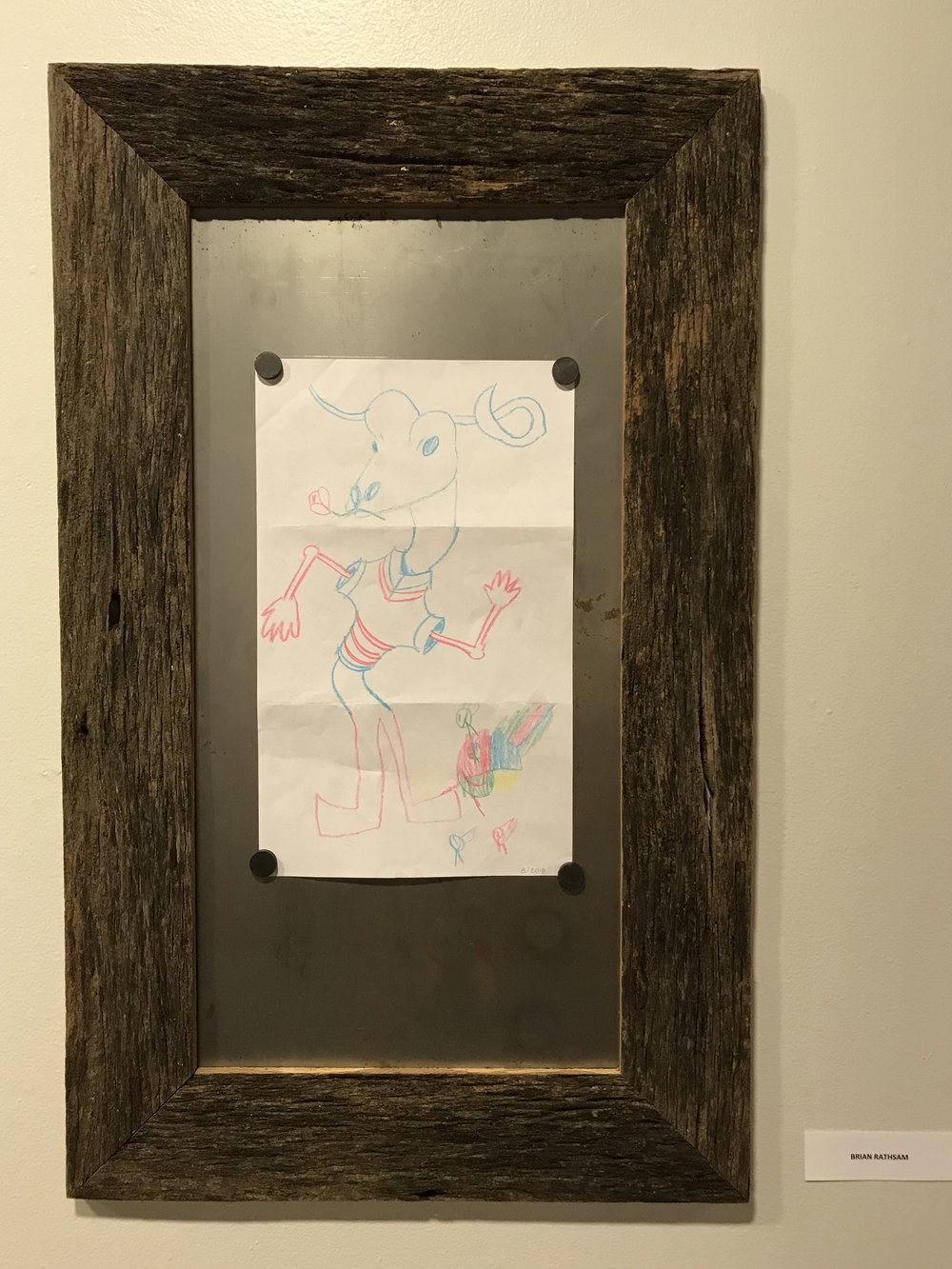 Barn Wood Frame, Brian Rathsam
