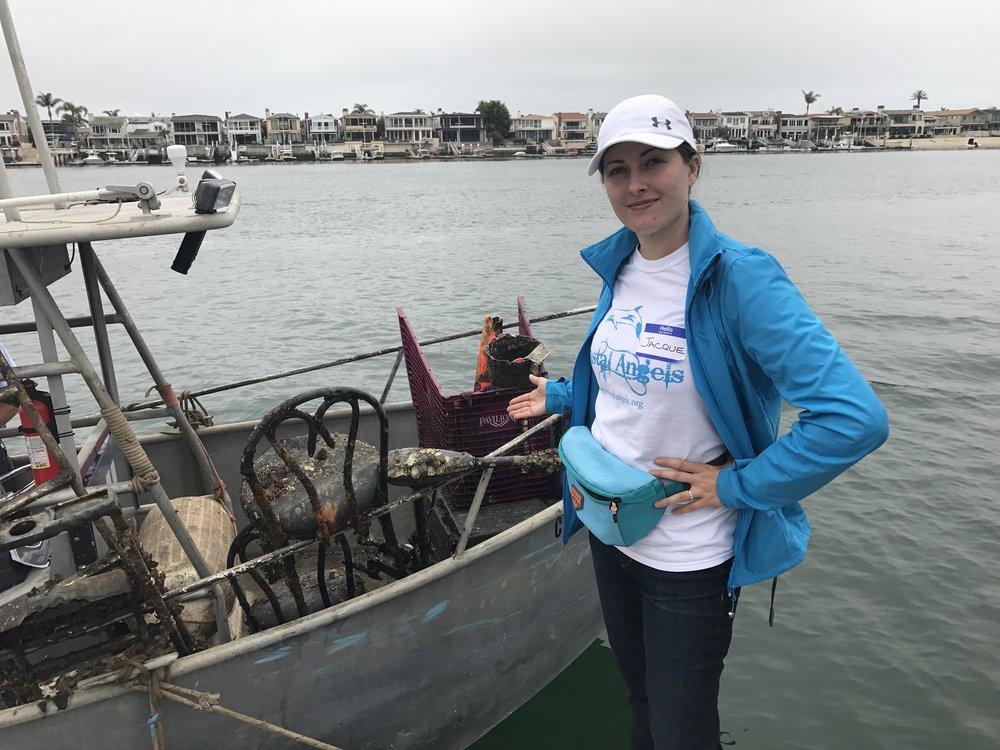 Coastal Angels President Jacqueline Winberg