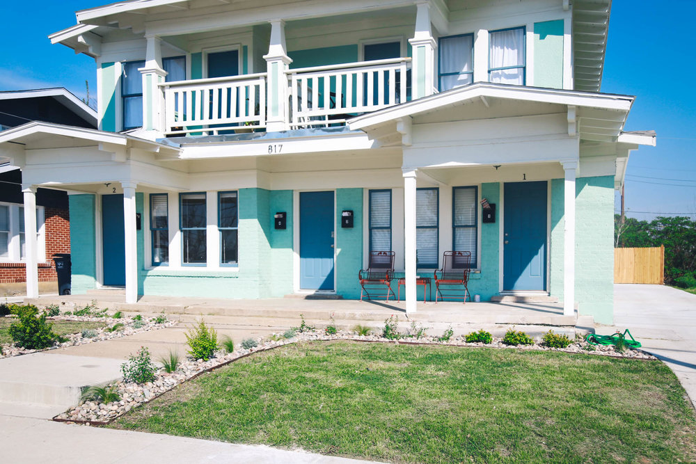 The Seafoam Green Quad