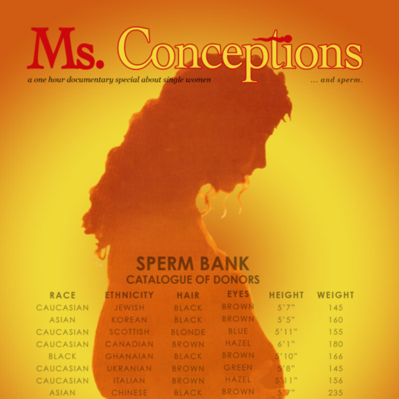 Ms. Conceptions , 1995. (16 mm, 101 mins.)