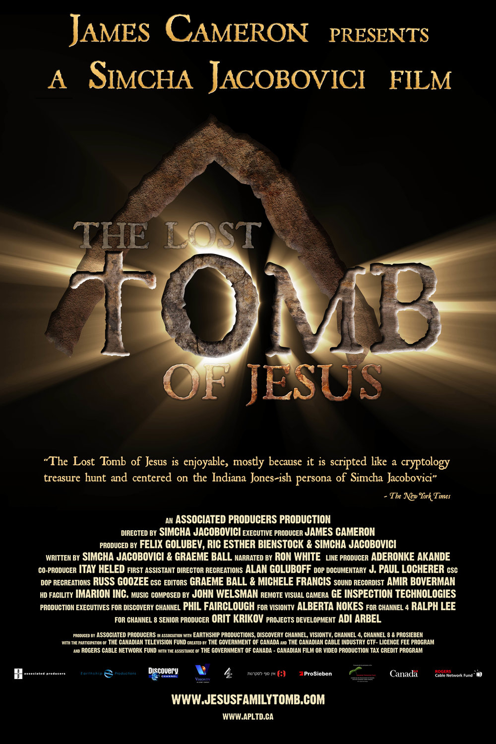The Lost Tomb of Jesus,  2007 (120 Mins.)