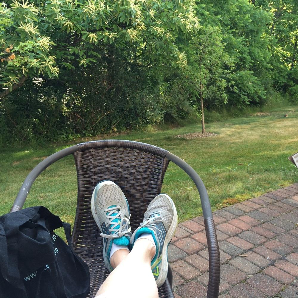 Reflecting, post-walk...